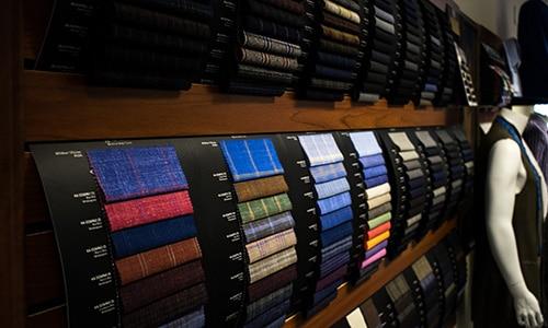 Custom Tailor Fabric Selection Green Bay WI