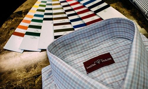 Master Rudolph Tailor Custom Tailored Mens Shirt