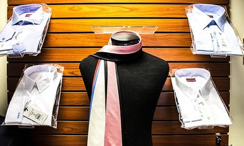 Custom Tailored Mens Shirts and Ties