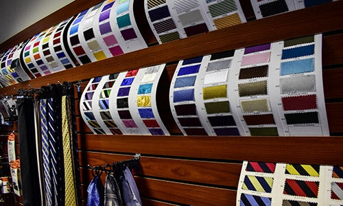 Master Rudolf Tailor Fabric Selection Green Bay WI