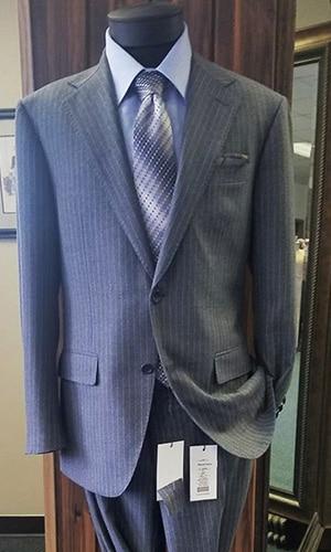 Master Rudolf Tailor Pinstripe Suit