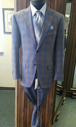 Master Rudolf Tailor Plaid Suit