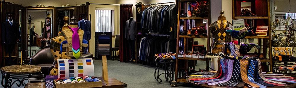 Master Rudolf Tailor Suit Shop Interior